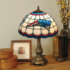 New England Patriots - Stained-Glass Tiffany-Style Table Lamp