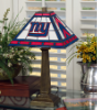 New York Giants - Stained-Glass Mission-Style Table Lamp