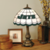 New York Jets - Stained-Glass Tiffany-Style Table Lamp