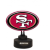 San Francisco 49ers -Team Logo Neon Desk Lamp