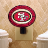 San Francisco 49ers - Art Glass Night Light