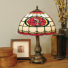 San Francisco 49ers - Stained-Glass Tiffany-Style Table Lamp