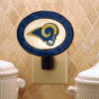 St. Louis Rams - Art Glass Night Light