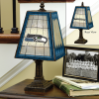 Seattle Seahawks - Art Glass Table Lamp
