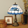 Seattle Seahawks - Stained-Glass Tiffany-Style Table Lamp