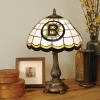 Boston Bruins - Stained-Glass Tiffany-Style Table Lamp