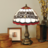Chicago Blackhawks - Stained-Glass Tiffany-Style Table Lamp