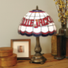 Columbus Blue Jackets - Stained-Glass Tiffany-Style Table Lamp
