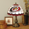 Carolina Hurricanes - Stained-Glass Tiffany-Style Table Lamp