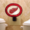 Detroit Red Wings - Art Glass Night Light