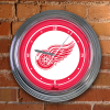 Detroit Red Wings - Neon Light Wall Clock
