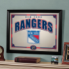 New York Rangers - Framed Mirror