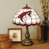 Arizona Coyotes - Stained-Glass Tiffany-Style Table Lamp