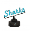 San Jose Sharks - Neon Script Desk Lamp