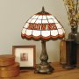 Cleveland Browns - Stained-Glass Tiffany-Style Table Lamp