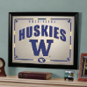 Washington Huskies - Framed Mirror