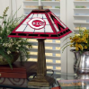 Cincinnati Reds - Stained-Glass Mission-Style Table Lamp