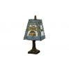 Denver Nuggets - Art Glass Table Lamp