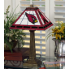 Arizona Cardinals - Stained-Glass Mission-Style Table Lamp