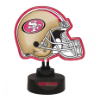 San Francisco 49ers - Neon Helmet & Cap Desk Lamp