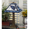 Tennessee Titans - Stained-Glass Mission-Style Table Lamp