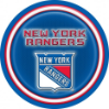 New York Rangers - Neon Desk Lamp