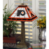 Philadelphia Flyers - Stained-Glass Mission-Style Table Lamp