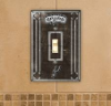 San Antonio Spurs - Single Art Glass Light Switch Cover