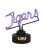Louisiana State Tigers - Neon Script Table Lamp