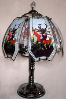 Elk Touch Lamp - Stained Glass
