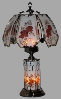 Rose Upper and Lower Touch Lamp
