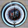 Buick Double Neon Clock