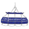 Bud Light 28 inch Stained Glass Pool Table Light