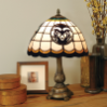Colorado State Rams - Stained-Glass Tiffany-Style Table Lamp