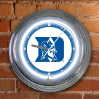 Duke Blue Devils - Neon Light Wall Clock