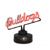 Georgia Bulldogs - Neon Script Desk Lamp