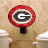 Georgia Bulldogs - Art Glass Night Light