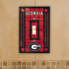 Georgia Bulldogs - Single Art Glass Light Switch Cover