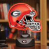Georgia Bulldogs - Neon Helmet & Cap Desk Lamp