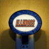 Illinois Fighting Illini - Art Glass Night Light