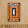 Illinois Fighting Illini - Single Art Glass Light Switch Cover