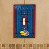 Kansas Jayhawks - Single Art Glass Light Switch Cover