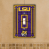 Louisiana State Tigers - Single Art Glass Light Switch Cover