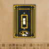 Missouri Tigers - Single Art Glass Light Switch Cover