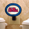 Mississippi Rebels - Art Glass Night Light