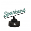 Michigan State Spartans - Neon Script Desk Lamp