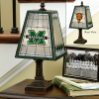 Marshall Thundering Herd - Art Glass Table Lamp