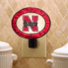 Nebraska Cornhuskers - Art Glass Night Light