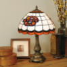 Oklahoma State Cowboys - Stained-Glass Tiffany-Style Table Lamp