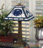 Penn State Nittany Lions - Stained-Glass Mission-Style Table Lamp